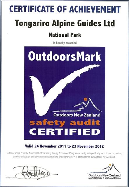 Tongariro Alpine Guides outdoors web