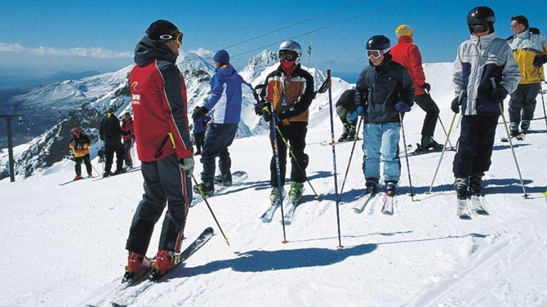 Mt Ruapehu - Skiing and Snowboarding