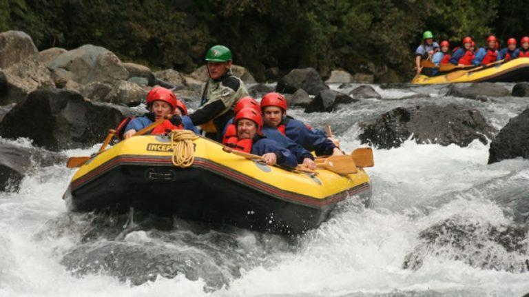 Tongariro - River Rafting